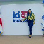 Fantinense Katy Díaz, nueva directora de protocolo del Indotel: «Servicio y amor a mi pueblo»